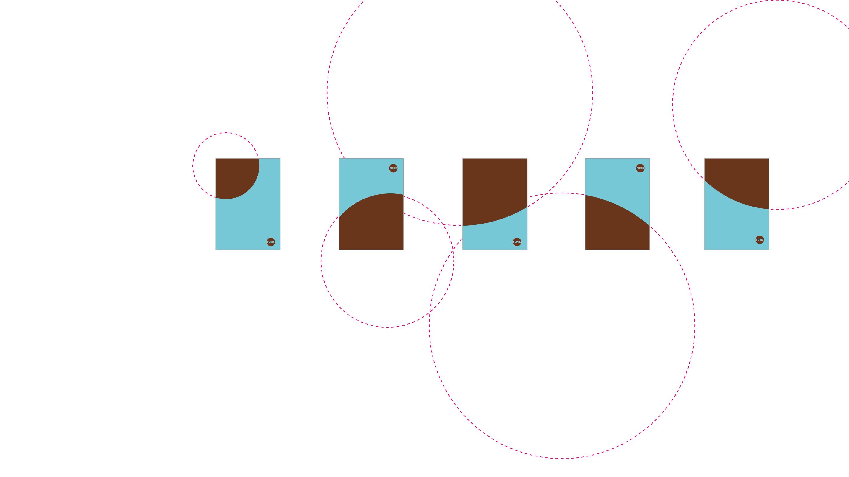 Fonic Layoutprinzip – Poarangan Brand Design