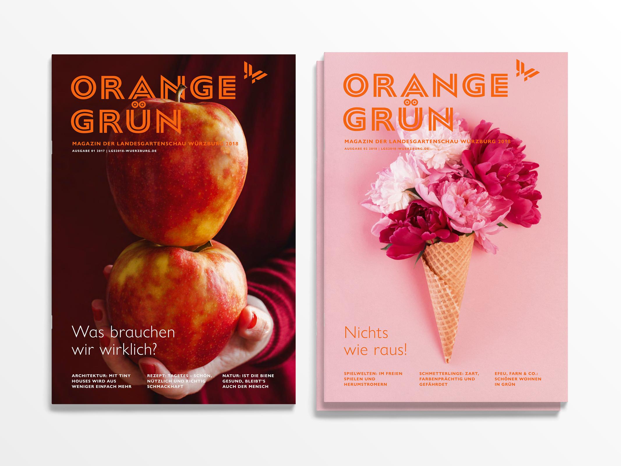Orangegrün – Poarangan Brand Design