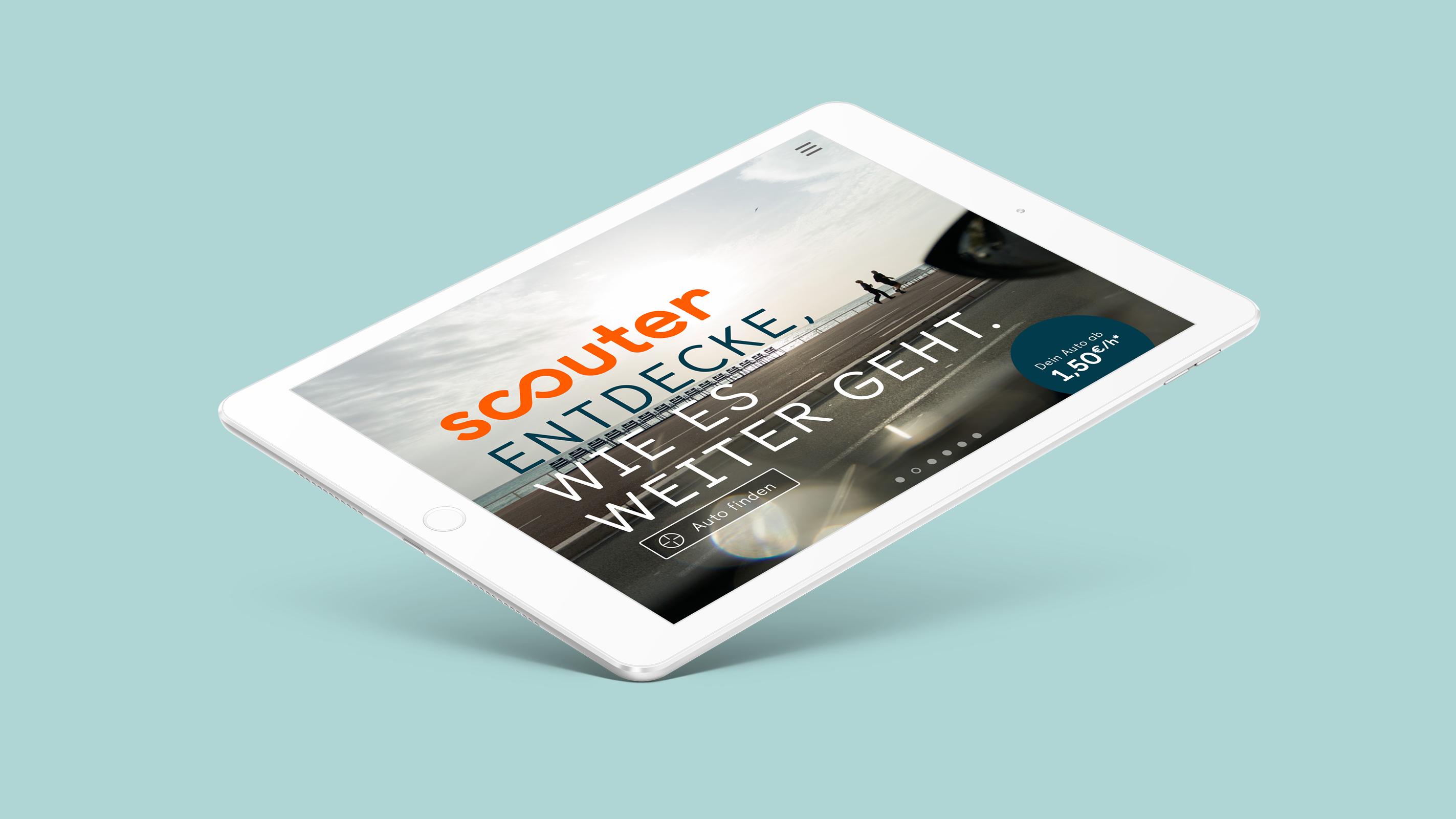 Scouter Carsharing – Poarangan Brand Design5