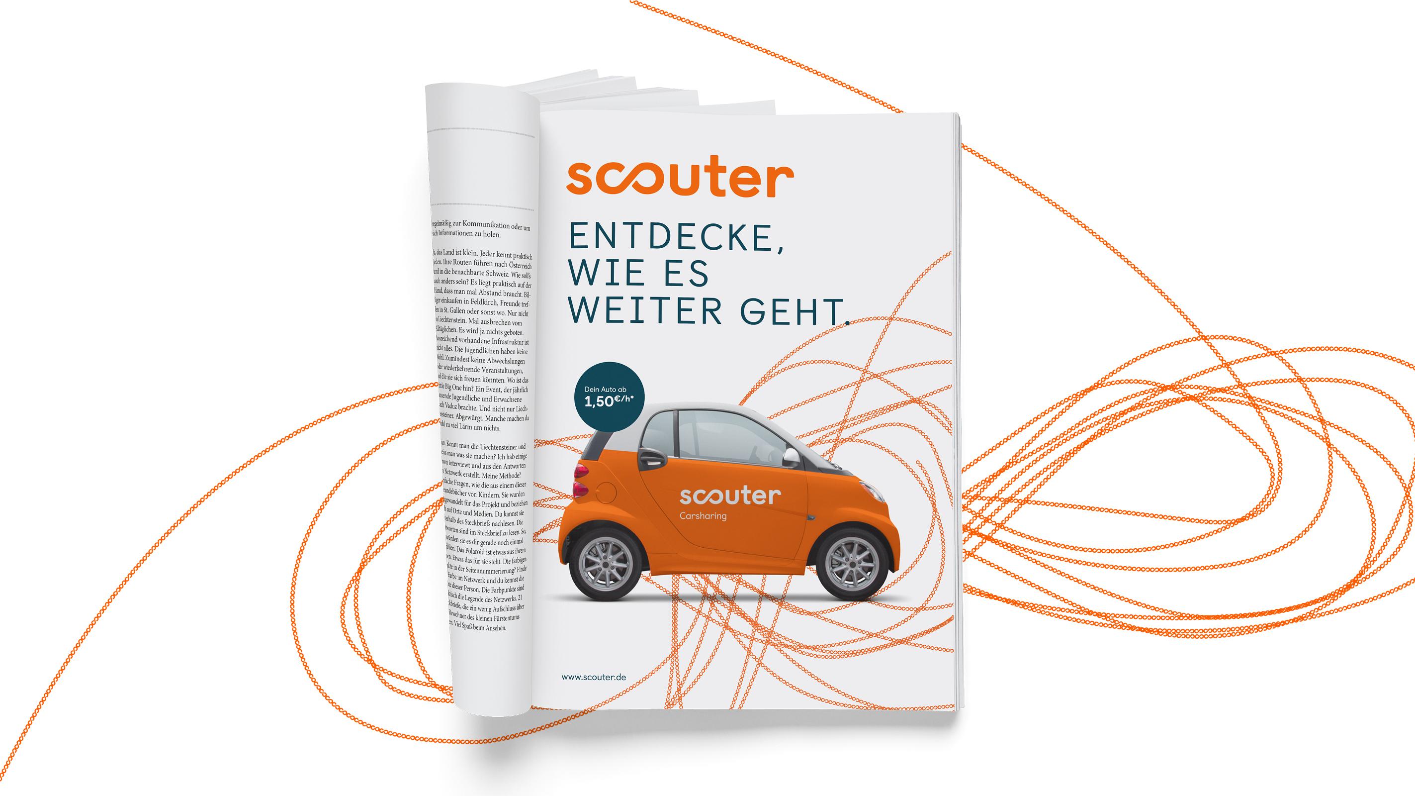 Scouter Carsharing – Poarangan Brand Design6