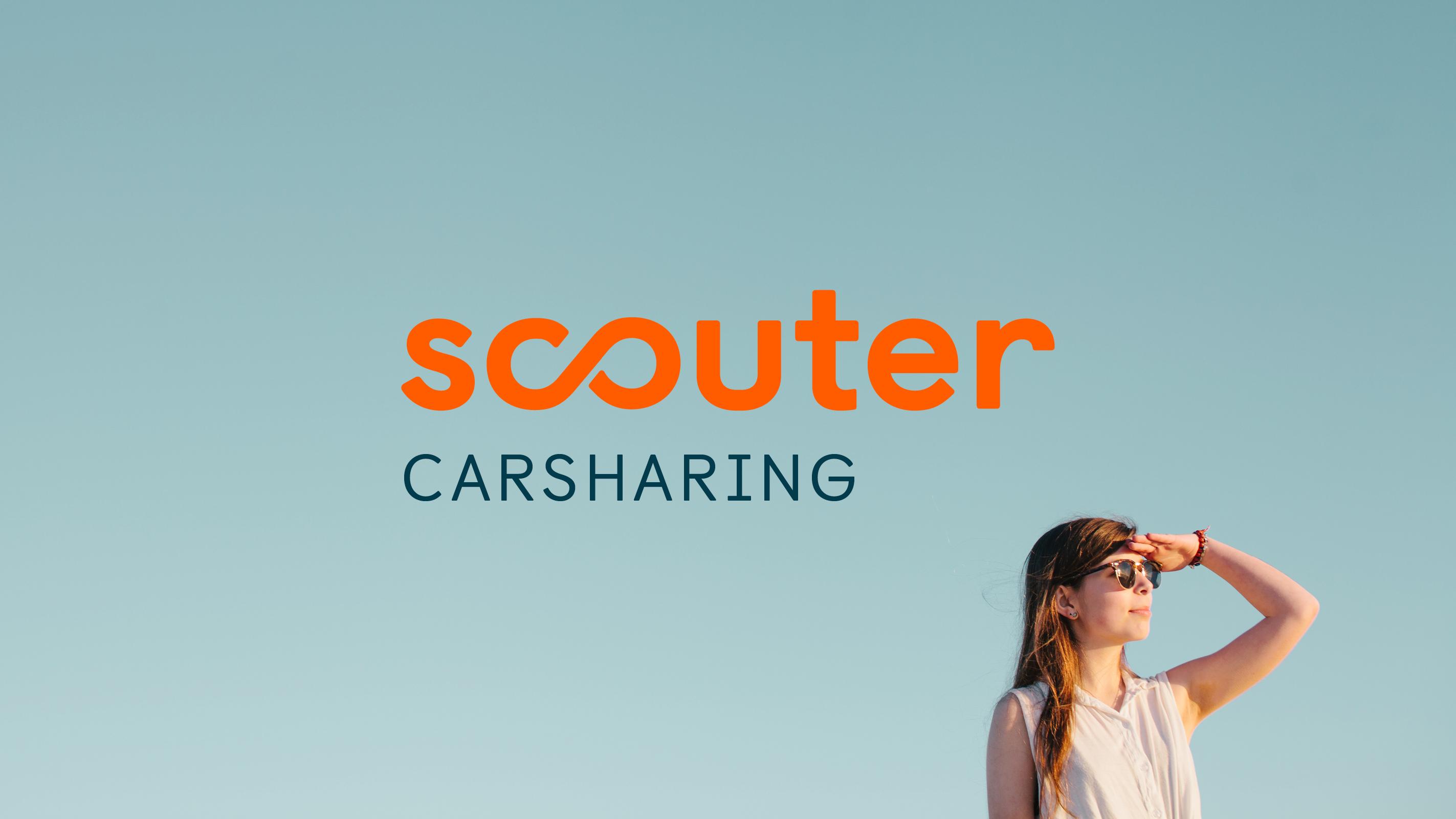 Scouter Carsharing – Poarangan Brand Design
