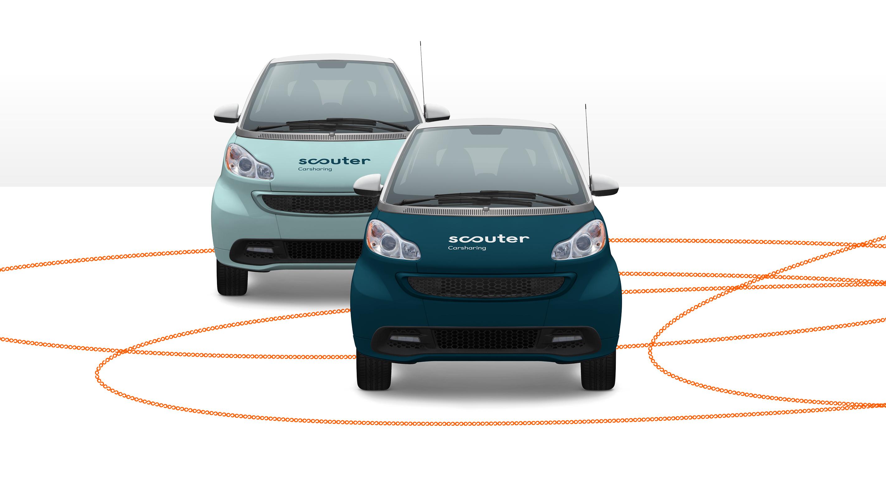 Scouter Carsharing – Poarangan Brand Design11
