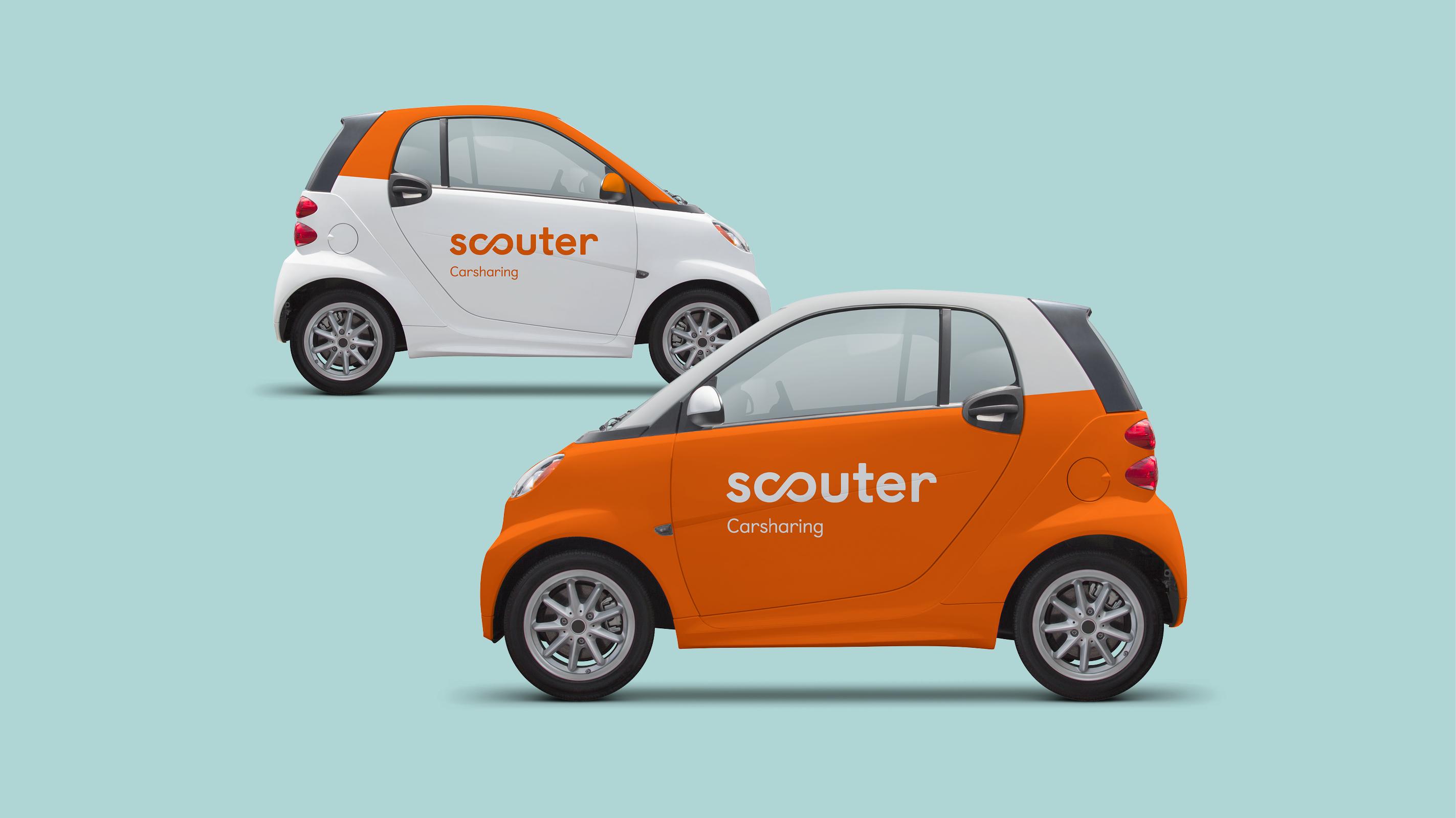 Scouter Carsharing – Poarangan Brand Design8