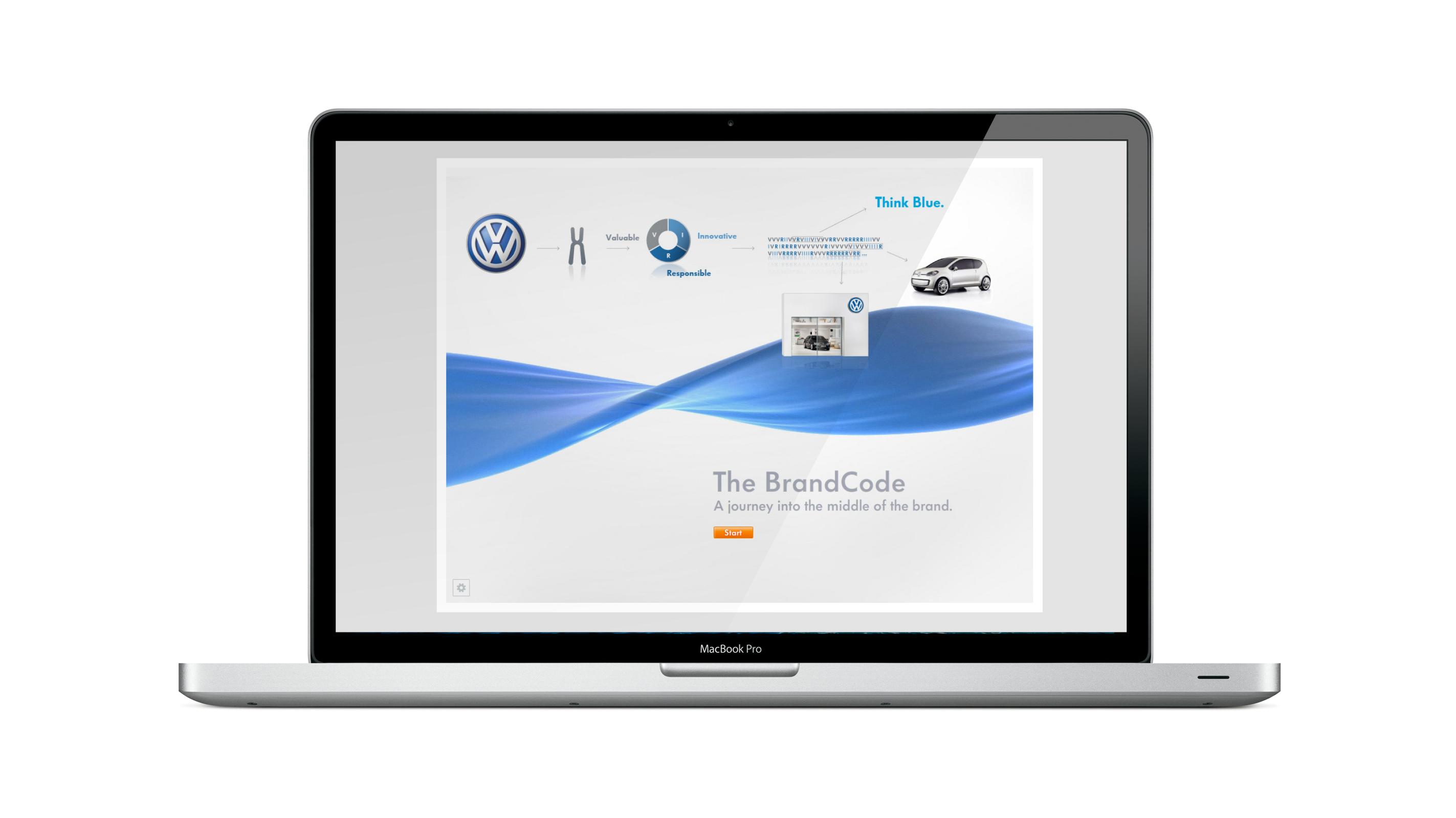 Volkswagen Brand Code – Poarangan Brand Design3
