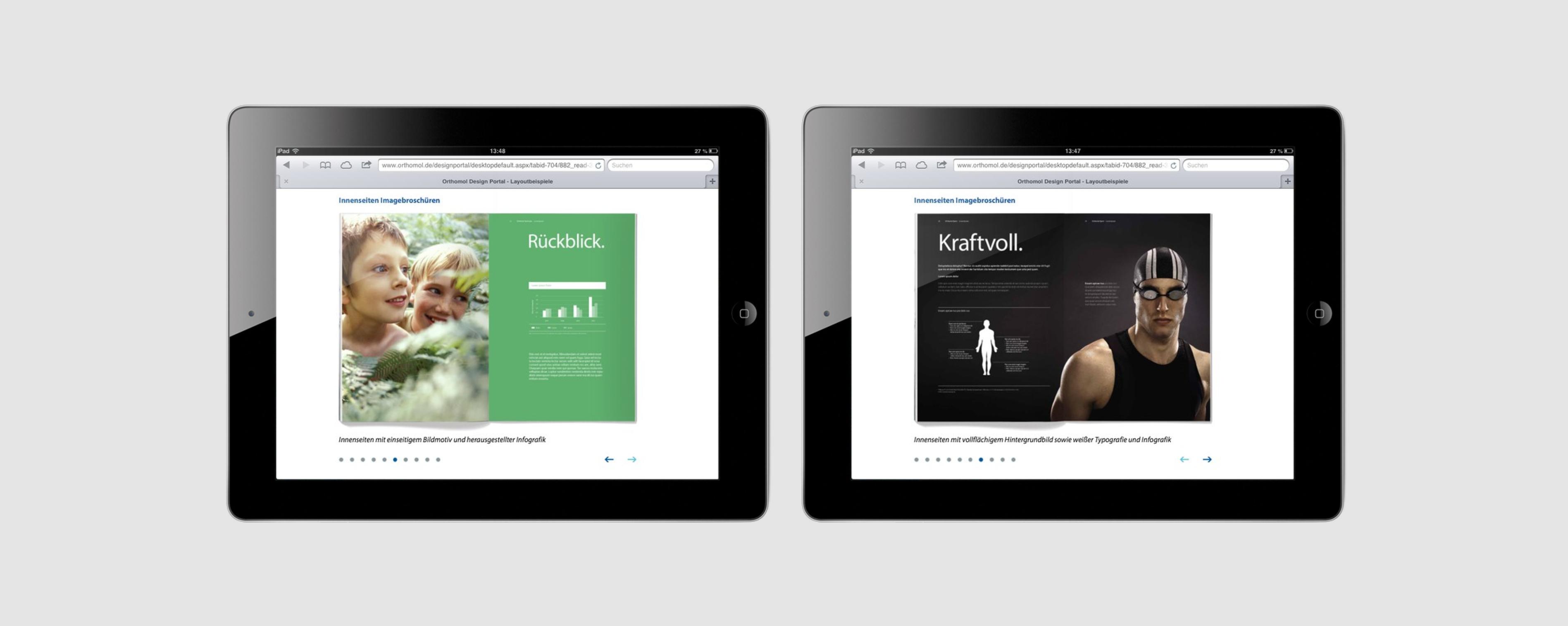Orthomol – Poarangan Brand Design4