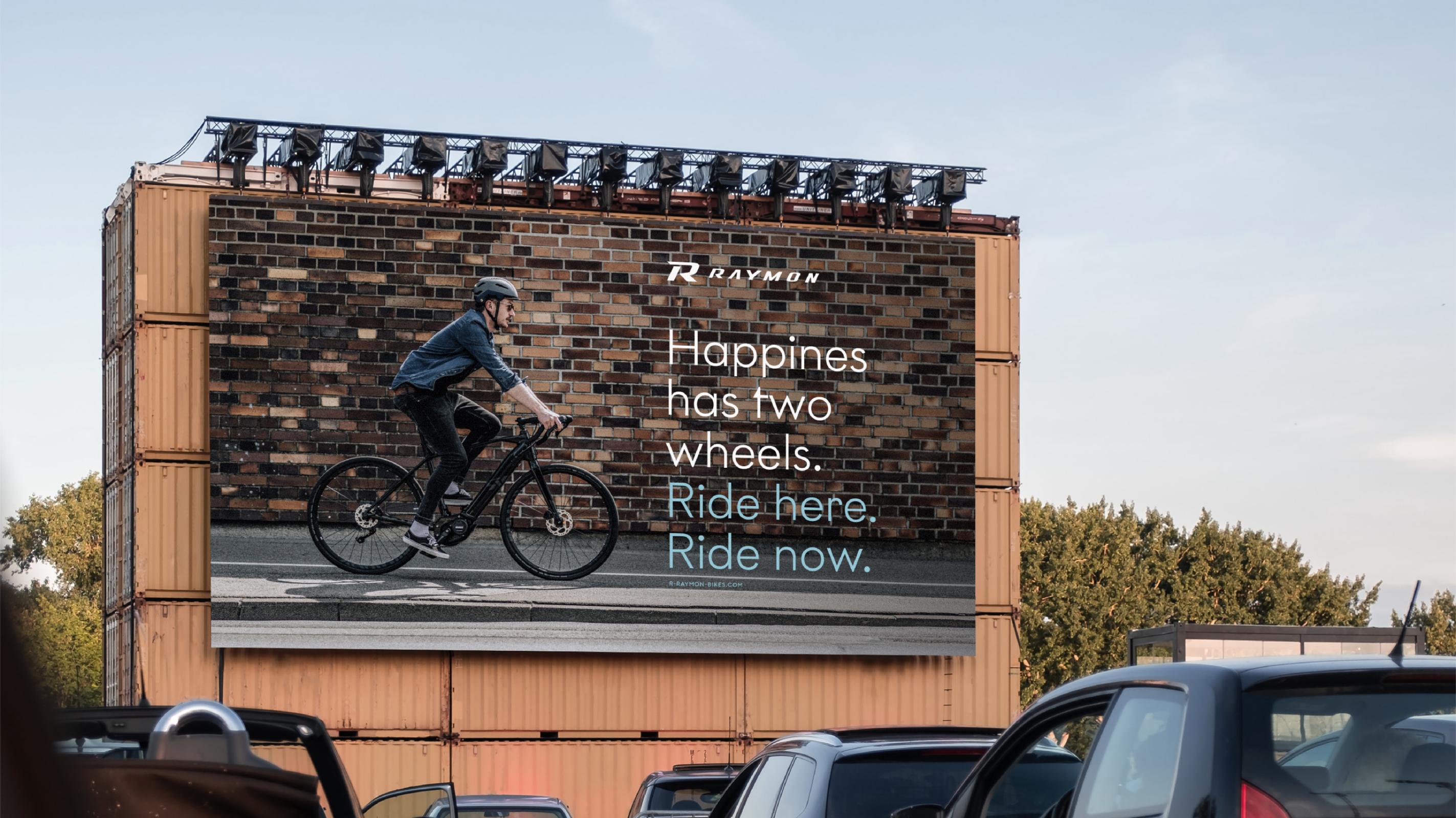 R Raymon – Billboard – Poarangan Brand Design