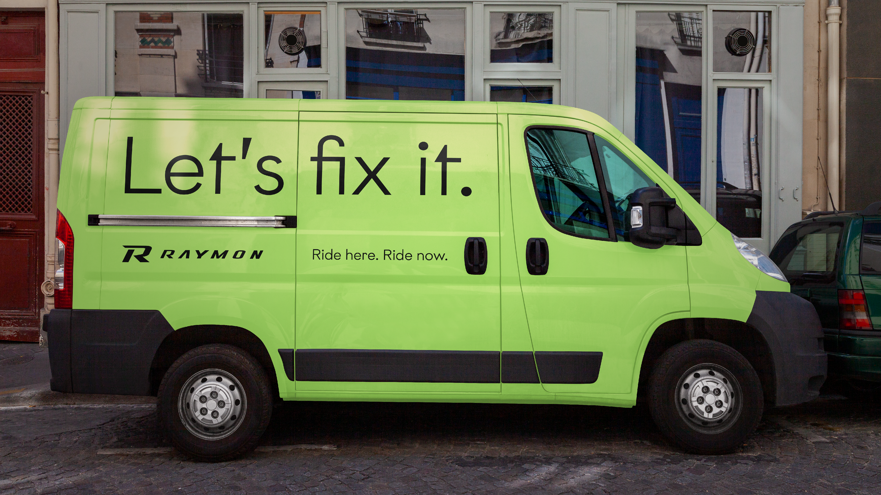 R Raymon – Van – Poarangan Brand Design